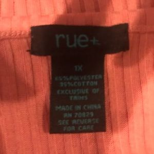 Rue21 Tops - plus size ribbed tee